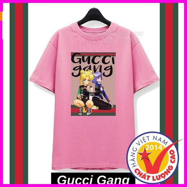 [ Giảm 50% ] ÁO THUN TAY LỠ FORM RỘNG GUCHI GANG - 8 Màu áo thun style hàn quốc,vải cực thoáng mát