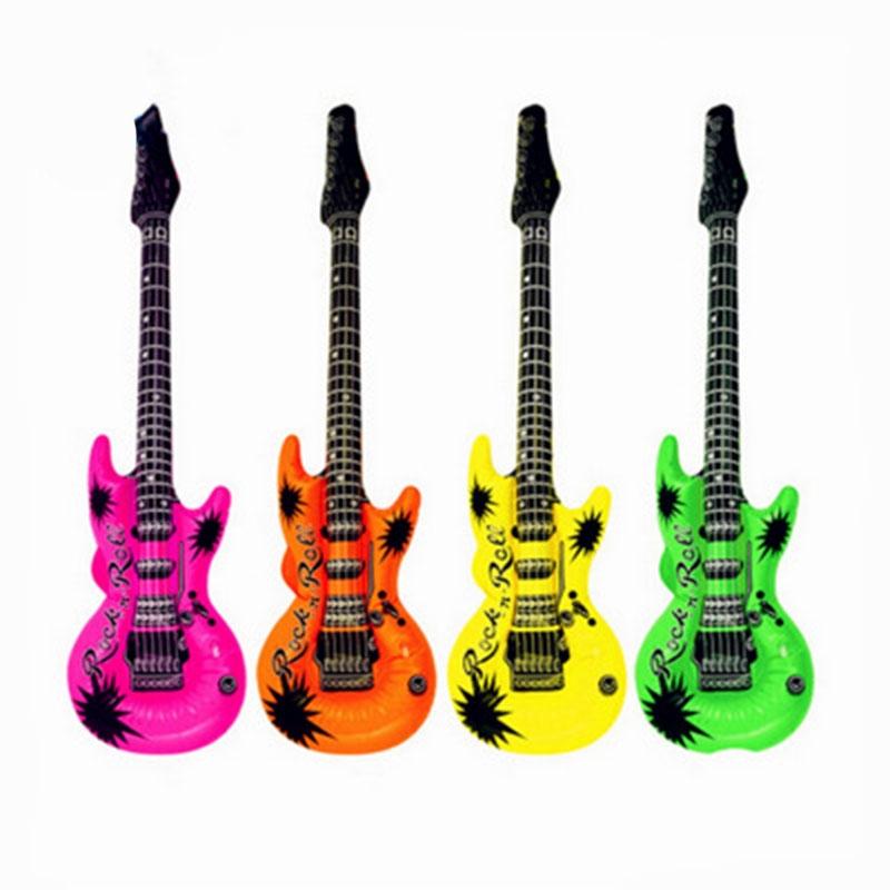 53cm/93cm Inflatable Air Guitar Kids Children Toy Blow Up Party Fancy