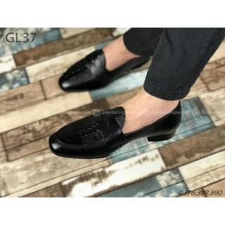 GÍA SIÊU SỐC – ẢNH CHỤP THẬT 100% – Giày Lười vân cá sấu GL37