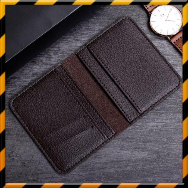 Ví Đựng Thẻ 💖𝑭𝑹𝑬𝑬𝑺𝑯𝑰𝑷💖 Bóp Ví Mini  - Hàng Cao Cấp -  Nhiều màu, Bảo Hành 1 đổi 1 - VMN02