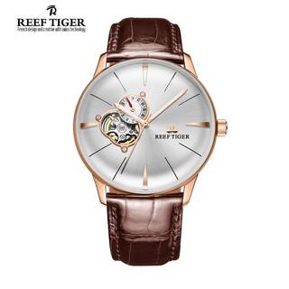[Mã FASHIONRNK giảm 10K đơn 50K] Đồng Hồ Cơ Chính Hãng Nam Reef Tiger Classic Glory RGA8239-PWB thumbnail