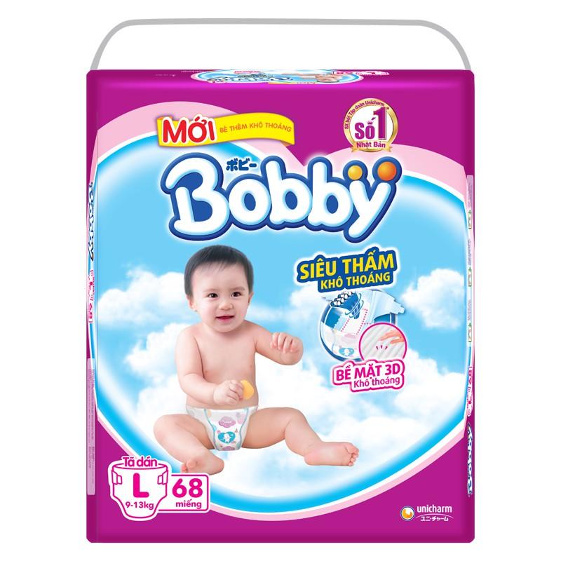 Bỉm dán Bobby L68 (siêu mỏng)