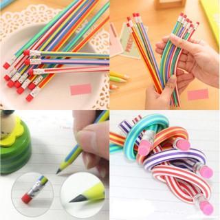 Bộ 3 bút chì dẻo đầy màu sắc cho bé
