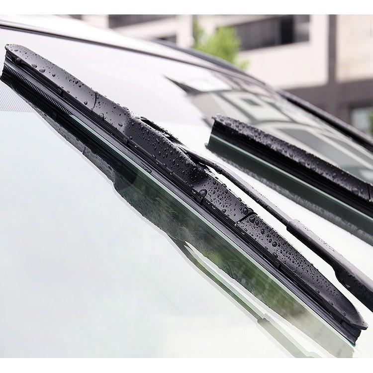 Gạt Mưa Ô Tô Silicone Hybrid 3 khúc CAO CẤP - Loại ngàm U cho dòng xe hơi phổ thông (Nhiều kích thước)