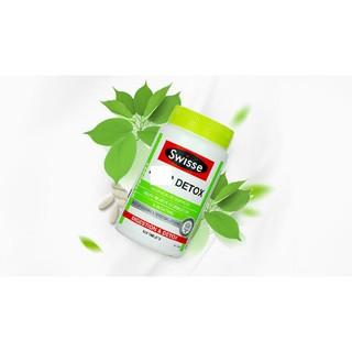 Sản phẩm detox liver Swisse