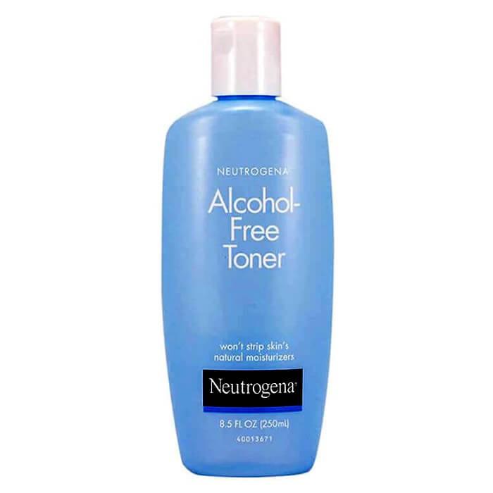 [HCM]Nước Cân Bằng Da Không Cồn Neutrogena Alcohol-Free Toner ( 250Ml) thumbnail