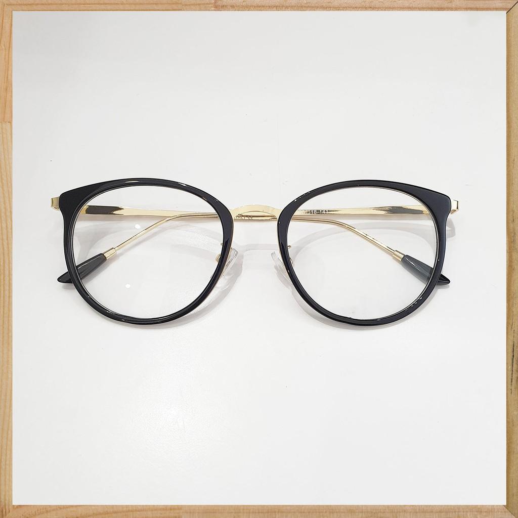 Gọng kính cận trendy Glasses Garden dáng bầu 9225 - Có lắp mắt cận theo yêu cầu