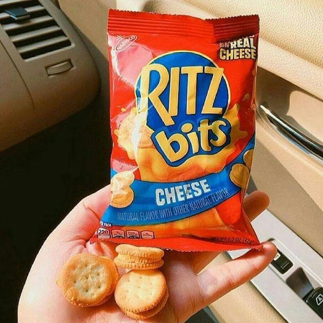 Bánh kẹp phô mai Ritz phomai gói mini 42g Mỹ