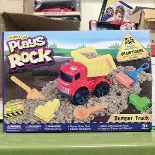 Xe tải xúc cát Play Rock Đồ Chơi Trẻ Em