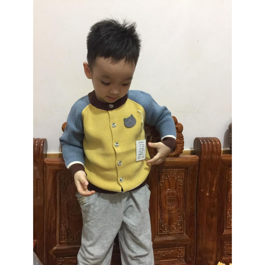 Áo len  bé trai hàng cao cấp (nội địa Trung 1-5y)