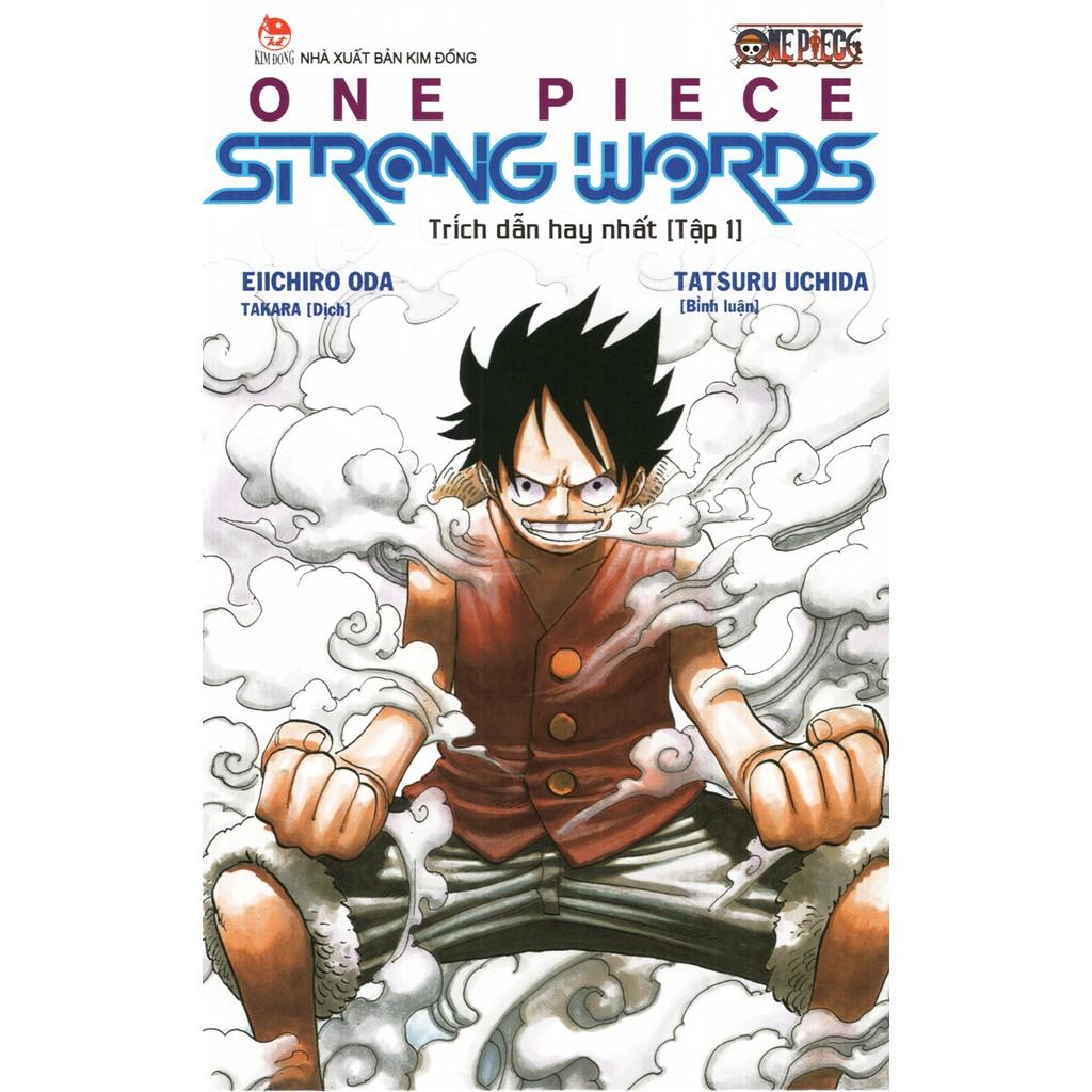 Sách - One Piece Strong Words - Trích Dẫn Hay Nhất - Tập 1