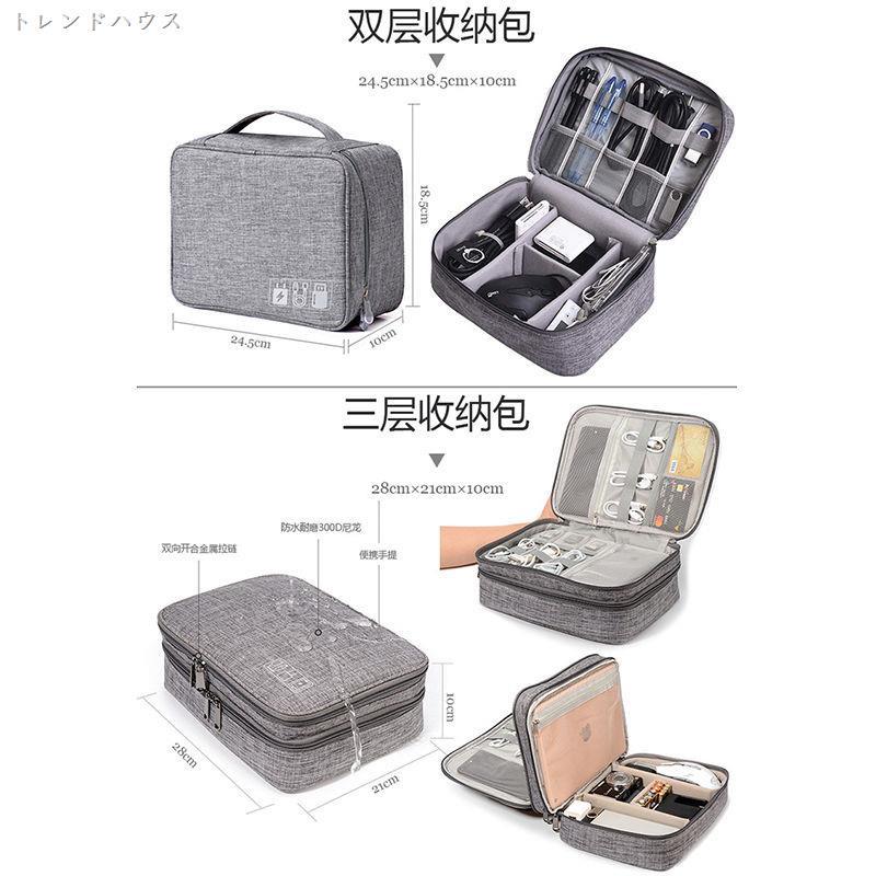 Túi đựng dây cáp sạc điện thoại tiện dụng mang đi du lịch