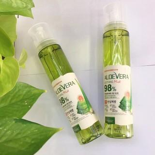 Xịt Khoáng Lô Hội Aloe Vera Soothing Mist 98% Organia Hàn Quốc 118ml thumbnail