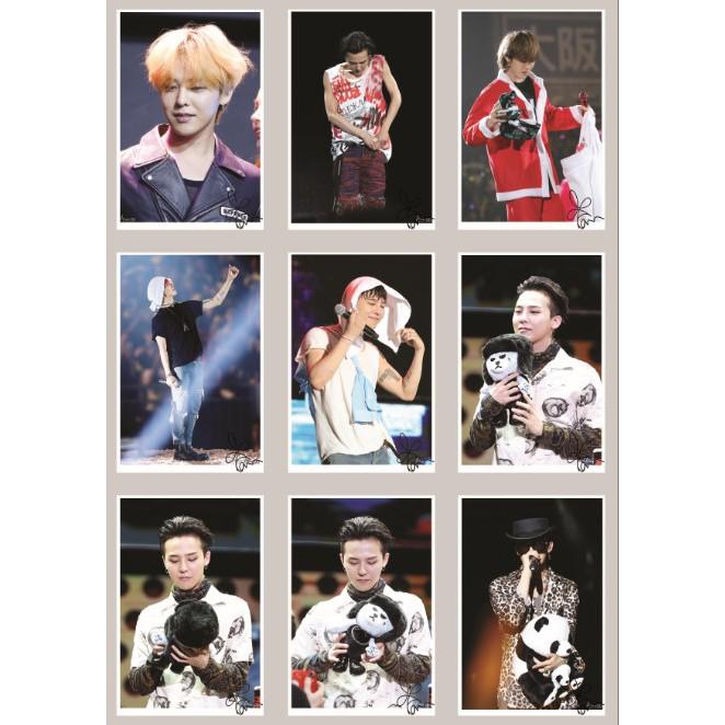 Lomo Card ảnh BIGBANG G-Dragon fansite Always-GD Có chữ ký Full 90 ảnh