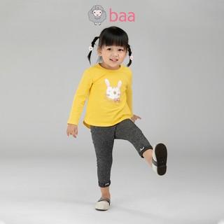 Quần legging sơ sinh BAA BABY phối nơ cho bé gái - GN-QU02D
