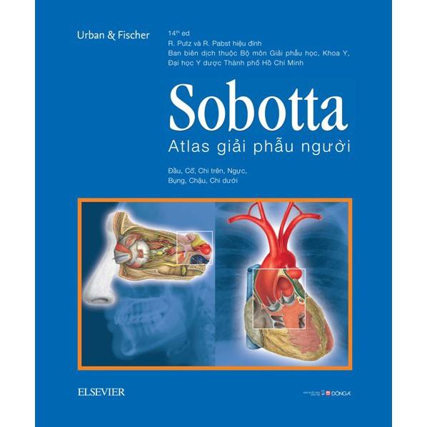 Sobotta Atlas giải phẫu người (Phiên bản thứ 14)