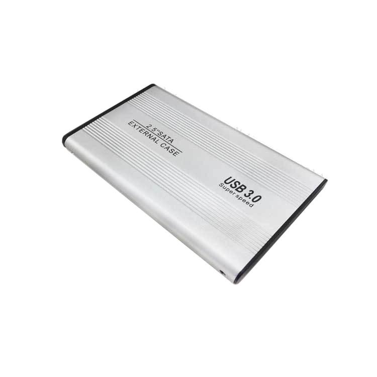 Hộp Đựng Ổ Cứng SATA USB 3.0 HDD BOX 2.5 inch chất liệu nhôm-Bạc
