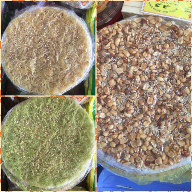 Bánh tráng dừa non lá dứa/ bánh tráng đậu phộng / bánh tráng dừa non mè/ bánh phồng sữa