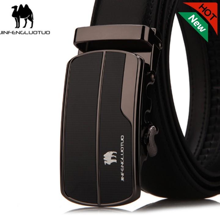 (NEW 2019 Men's Belt) Bảo Hành 1 Năm - Dây Nịt Thắt Lưng Da Bò Thật Cao Cấp KITHF0501 - Hàng Nhập Khẩu - Nam Nữ