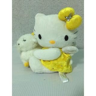 Gấu bông # Thú nhồi bông # Kitty ôm cừu 20cm.