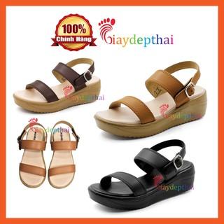 Giày Sandal nữ đế xuồng cao 5p Thái Lan mossono YW570 thumbnail