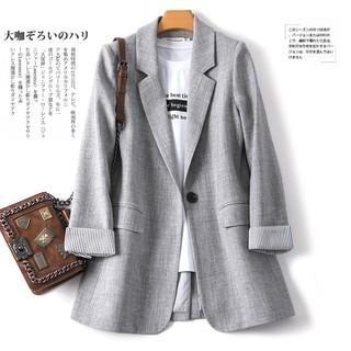 [Nhập WASIPN giảm 30K cho đơn 150K] Áo khoác vest nữ tay dài kiểu dáng thời trang công sở thanh lịch
