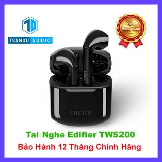 Tai Nghe True Wirless Earbud Edifier TWS200 ✔️Aptx ✔️Bản Quốc Tế ✔️CVC 8.0✔️Bảo Hành 12 Tháng Chính Hãng | Trần Du Audio