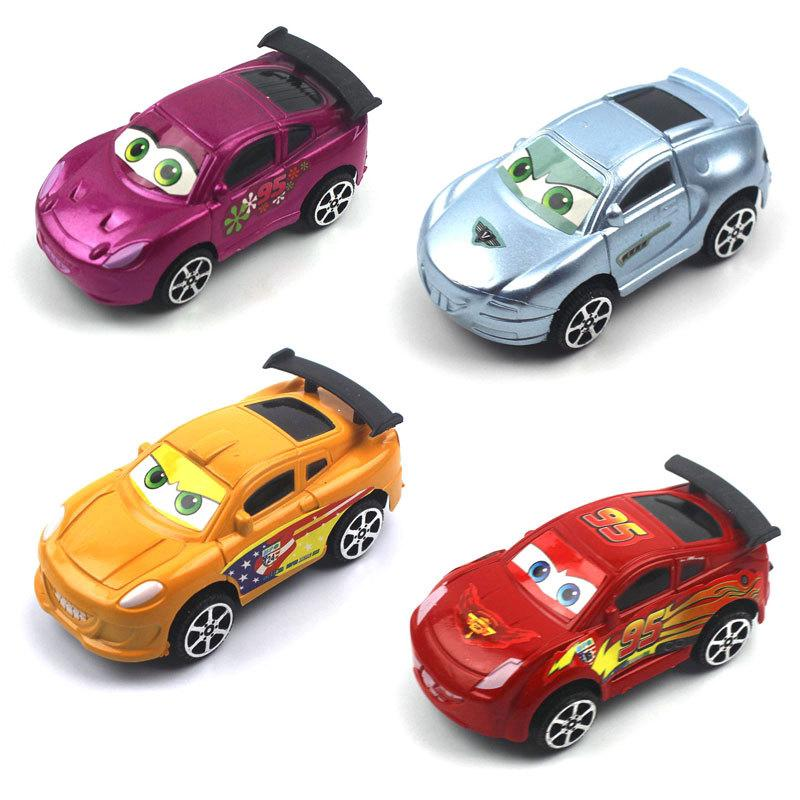 Children's Educational Toys Plastic Car Model Pull Back Car