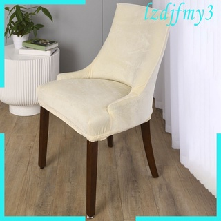 Cozylife Stretch Wingback Chair Cover Slipcover Reusable Arm Chair Cover