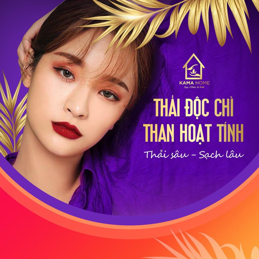 Hồ Chí Minh [Voucher giấy] - Chăm sóc da mặt thải độc chì thanh lọc da tươi trẻ tại Kama Home Spa