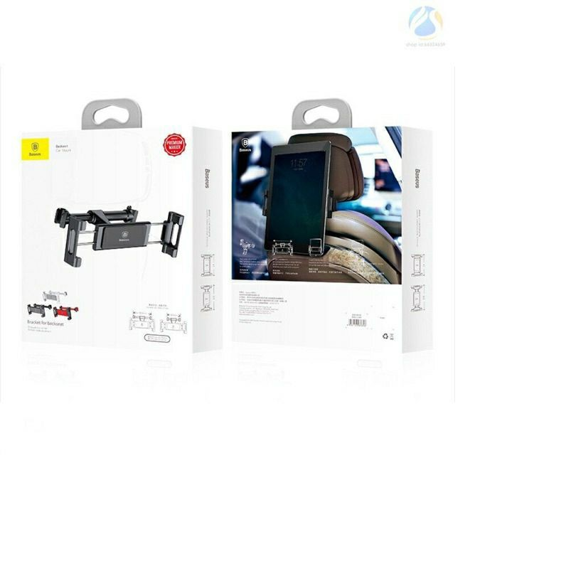 Đế giữ điện thoại / iPad sau ghế trên xe hơi - Baseus Backseat Car Mount LV236
