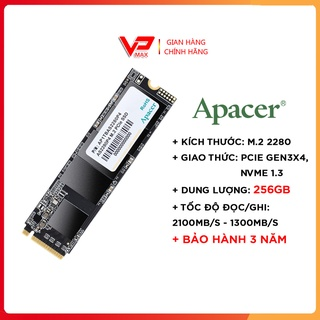 Ổ cứng SSD 256GB Apacer AS2280P4 256GB PCIe NVMe 3x4 thumbnail