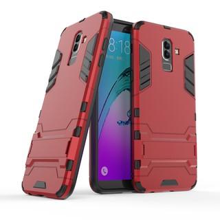 Ốp lưng silicon hình Iron man cho Samsung Galaxy j8 2018