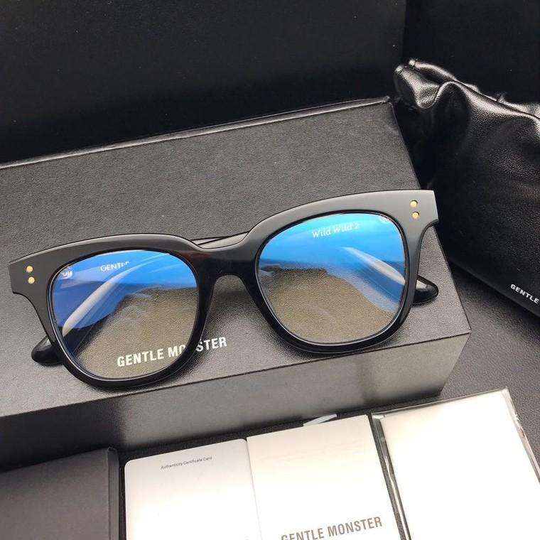 Kính mắt thời trạng – Gọng kính thời trang, cận loạn WW nhựa Acetate cao cấp Unisex – WW01 – Màu đen
