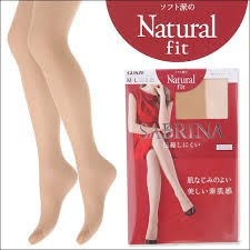 Quần tất Sabrina Natural Fit siêu thật chân Nhật Bản