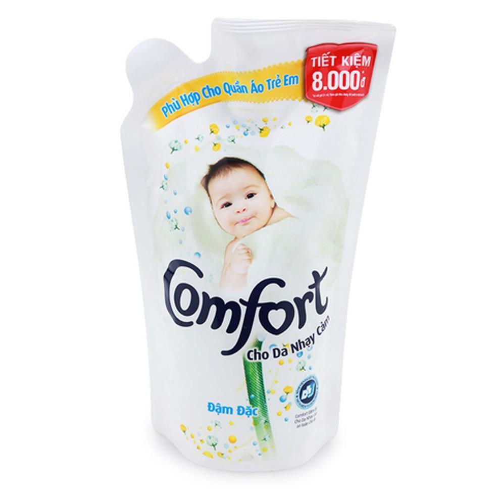 Nước xả vải Comfort cho da nhạy cảm 800ml-Túi- Chính Hãng