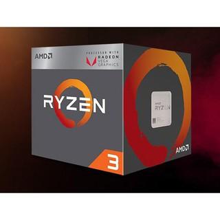 CPU AMD RYZEN 3 2200G 3.5 GHZ (3.7 GHZ WITH BOOST) 6MB 4 CORES 4 THREADS RADEON VEGA 8 SOCKET AM4 95 thumbnail