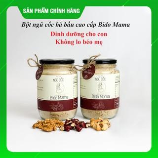 Combo 2 hộp Ngũ cốc bà bầu ⚡𝐅𝐑𝐄𝐄 𝐒𝐇𝐈𝐏⚡ Bido Mama 600 gram, thơm ngon dễ uống, hấp thụ vào con, thay sữa bầu