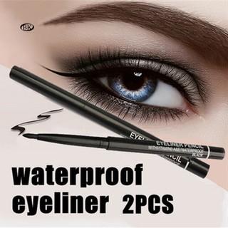 Set 2 bút kẻ mắt kháng nước thiết kế thu gọn tiện dụng cho nữ thumbnail