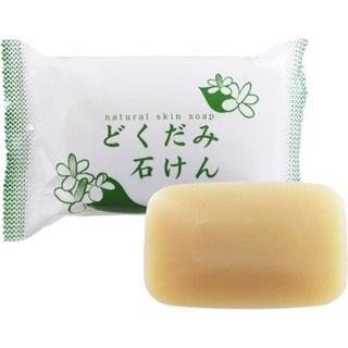 [Mã SKAMA9 giảm 8% đơn 250K] Xà Phòng Rửa Mặt Ngừa Mụn Chiết Xuất Diếp Cá Dokudami Natural Skin Soap thumbnail