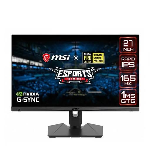 Màn Hình Gaming MSI Optix MAG274QRF 27″ (2560×1440/IPS/165Hz/1ms) - Hàng Chính Hãng
