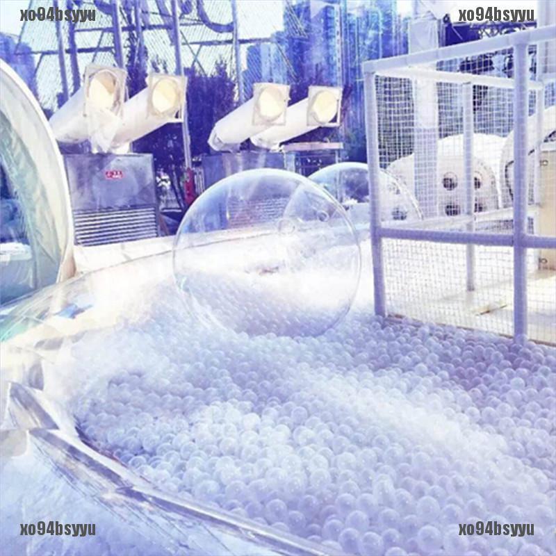[xo94bsyyu]50pcs/lot Baby Safety Transparent White Plastic Pool Ocean Balls Fu