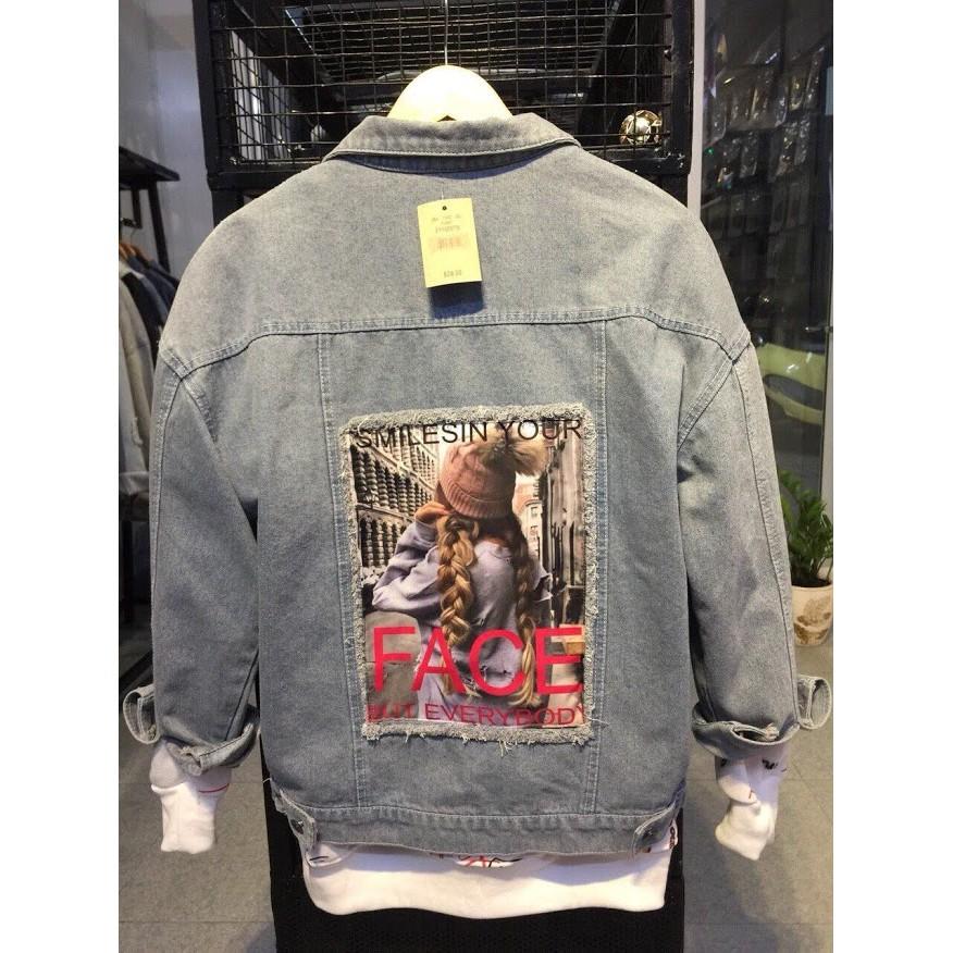 (HOÀN TRẢ,ĐỔI TRONG 7 NGÀY)áo khoác jean phối đồ namcao cấpxem nhiều mẫu hơn trong shop