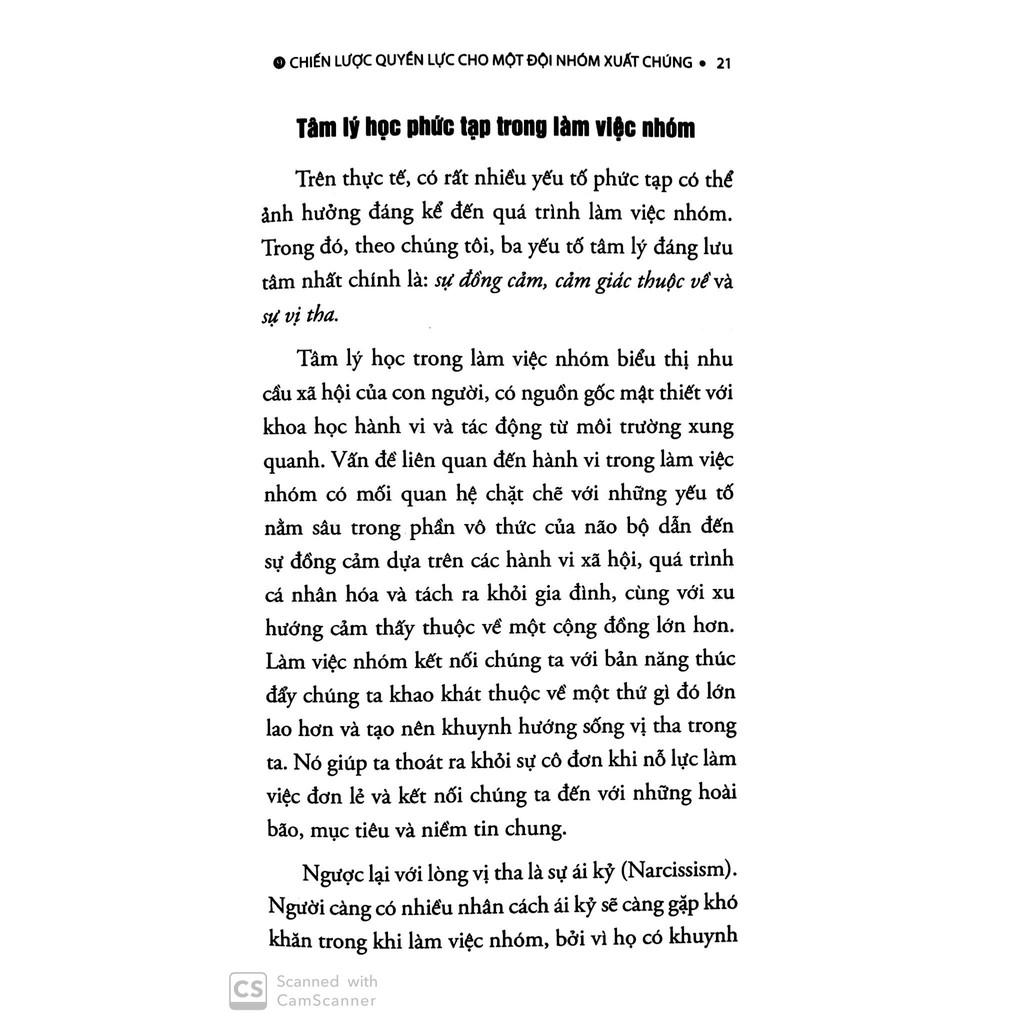 Sách 9 Chiến Lược Quyền Lực Cho Một Đội Nhóm Xuất Chúng
