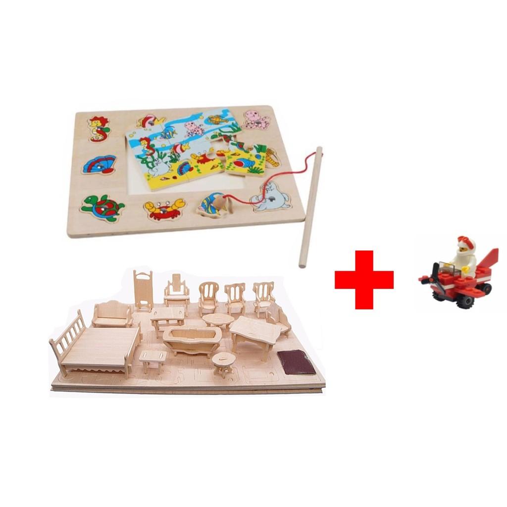 combo 1 bộ đồ chơi câu cá bằng gỗ kèm ghép hình+1 đồ chơi ghép hình 3D bằng gỗ 184 chi tiết tặng kèm - 10023232 , 566874075 , 322_566874075 , 119000 , combo-1-bo-do-choi-cau-ca-bang-go-kem-ghep-hinh1-do-choi-ghep-hinh-3D-bang-go-184-chi-tiet-tang-kem-322_566874075 , shopee.vn , combo 1 bộ đồ chơi câu cá bằng gỗ kèm ghép hình+1 đồ chơi ghép hình 3D bằn
