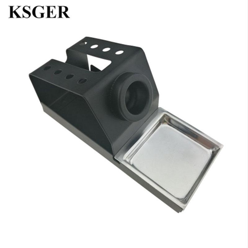 KSGER DIY Soldering Iron Station Stand T12 Holder Welding Iron Tips STC STM32