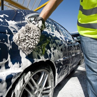 Khăn lau xe hơi màu vàng 2 lớp cao cấp siêu sạch siêu thấm hút SJV-014 4