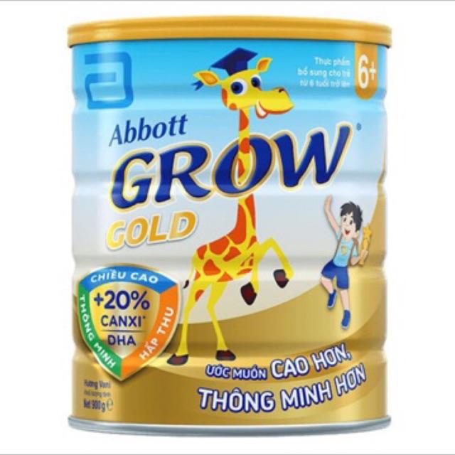SỮA ABBOTT GROW 6+ LON 900G