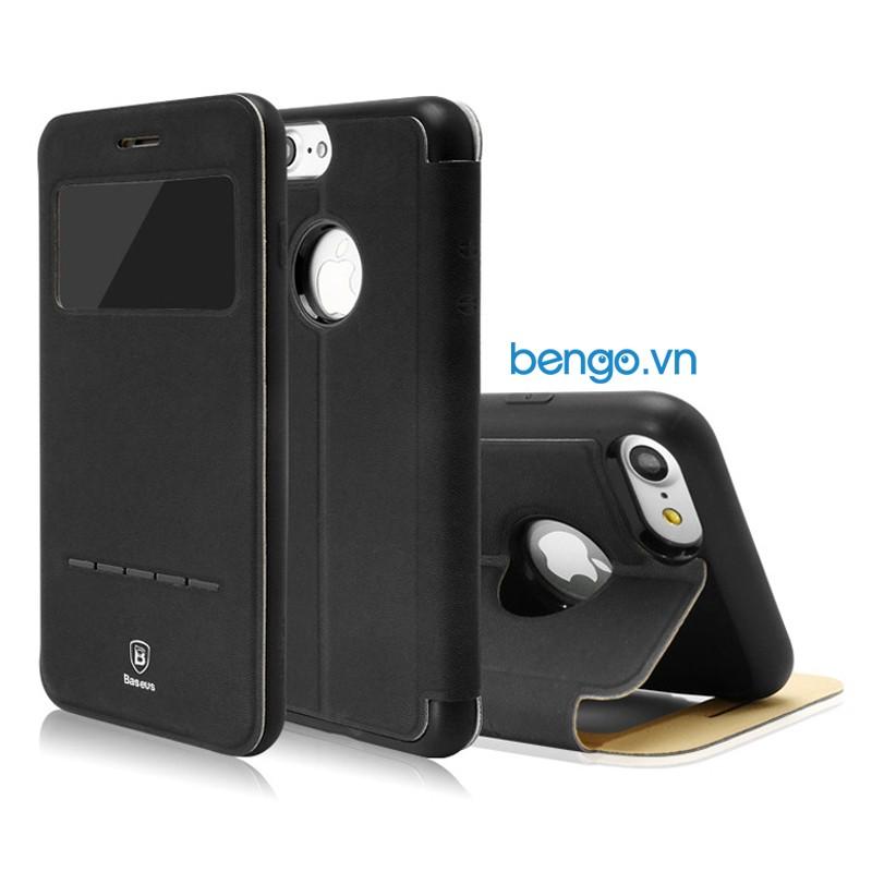 Bao da iPhone 7 Plus Window View hiệu Baseus