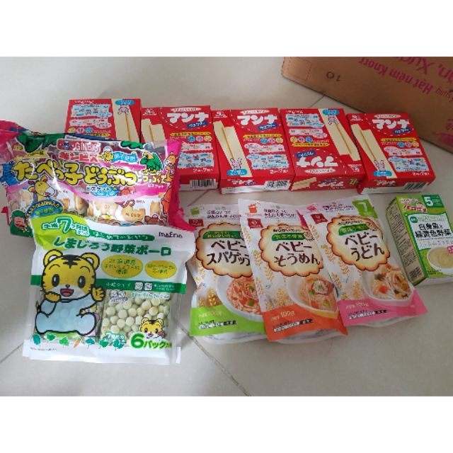 Combo bánh xốp, mì somen, bánh thú DHA, bánh men rau củ, bột wakodo - 2905700 , 1178036783 , 322_1178036783 , 648000 , Combo-banh-xop-mi-somen-banh-thu-DHA-banh-men-rau-cu-bot-wakodo-322_1178036783 , shopee.vn , Combo bánh xốp, mì somen, bánh thú DHA, bánh men rau củ, bột wakodo